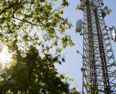 CDMA antennemast